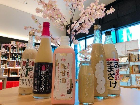 """""""進化系あま酒"""" 6種類飲み比べセットを期間限定で日本の酒情報館にて提供開始!"""