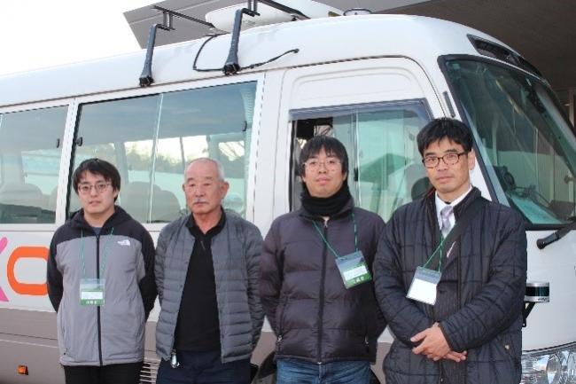 埼玉工業大学、自動運転バスの開発状況を報告