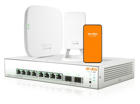"Aruba、小規模ネットワーク向けポートフォリオ ""Aruba Instant ON"" に有線ネットワーク製品を拡張"