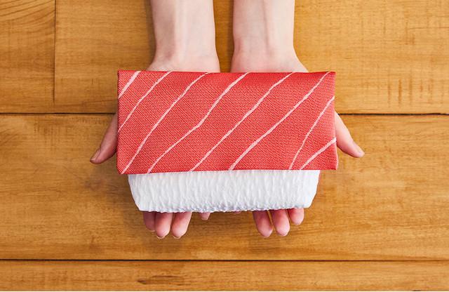 【え?寿司?】伝統織物の「寿司ポーチ」Makuakeにて先行販売開始