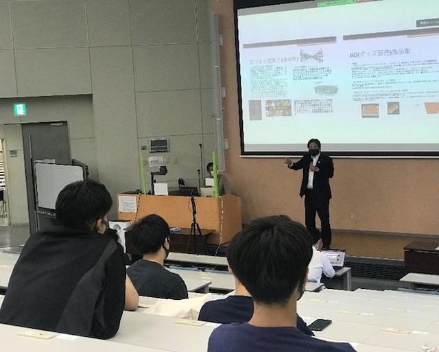 埼玉工業大学、さいたまブロンコスと連携し、スポーツマネジメントの特別講座を開催